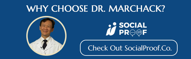 Dr. Marchack in SocialProofs.co