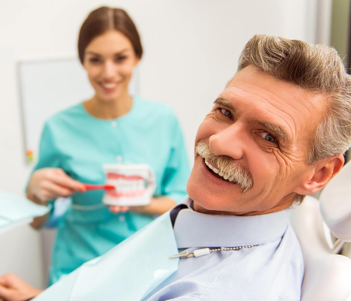 Immediate Dentures Service at Pasadena Prosthodontics in Pasadena, Ca Area