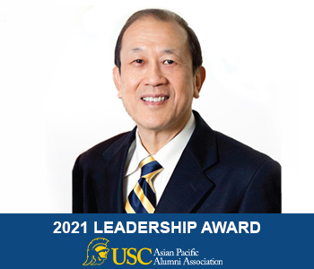 Dr Marchack was honored by the USC Asian Pacific Alumni Association